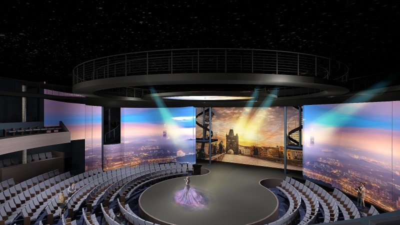 The Theatre on Celebrity Edge is a truly unique space designed to blur the line between audience and performance and immerse guests in an entertainment experience like they've never seen before.