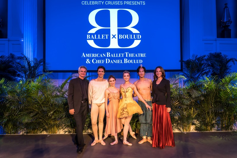 Left to Right: American Ballet Theatres Artistic Director, Kevin McKenzie, Soloists Skylar Brandt, Alexandre Hammoudi, Katherine Williams, Joo Won Ahn and Executive Director Kara Barnett