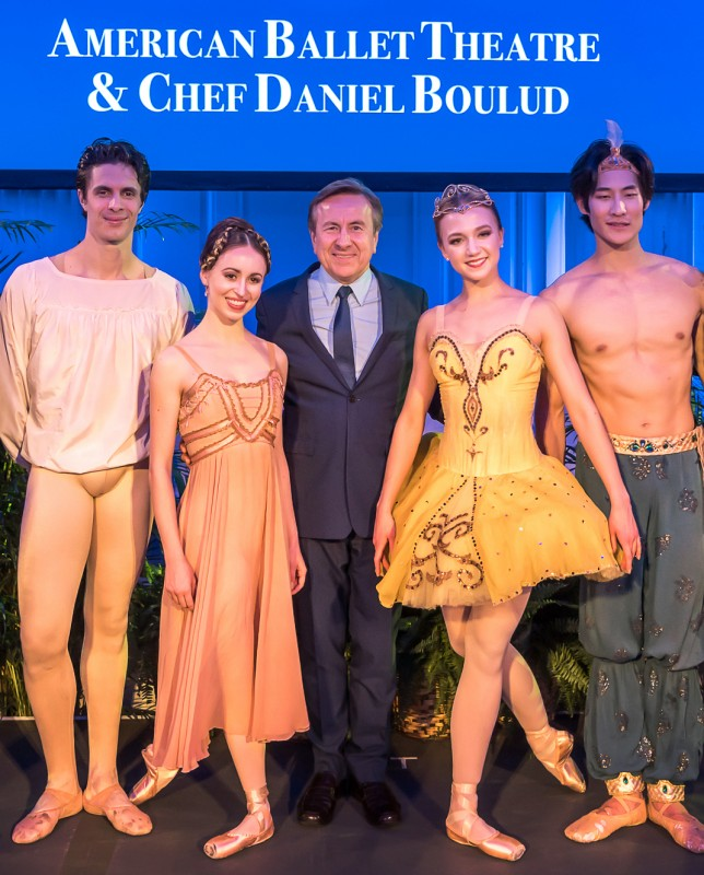 Celebrity Cruises announces two revolutionary partners, American Ballet Theatre and Daniel Boulud
