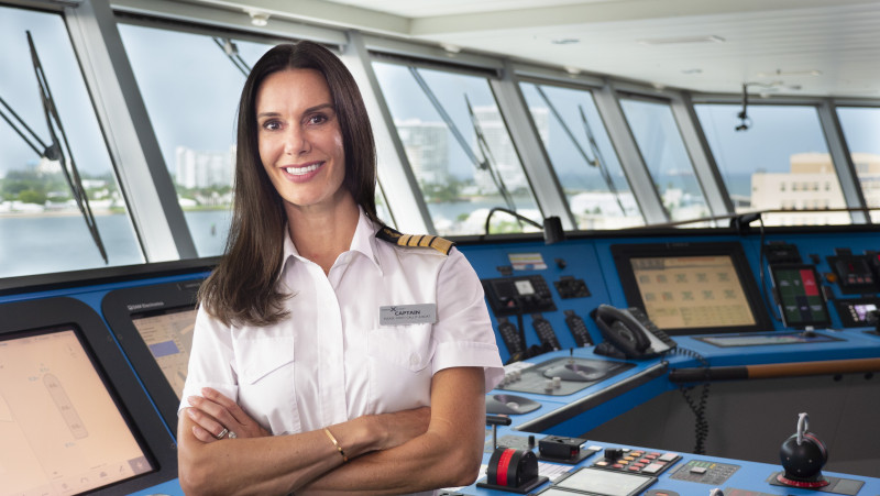 Captain McCue currently commands the transformational Celebrity Edge – a 129,500-ton, 1004-foot ship in the Celebrity Cruises fleet – sailing in both the Caribbean and the Mediterranean.