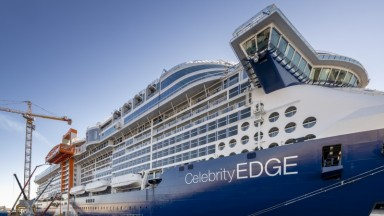 Celebrity Edge Construction Update
