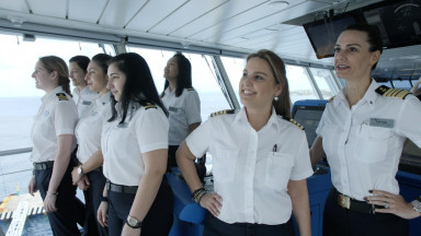 Celebrity Cruises Breaks Barriers: Celebrity Edge Sets Sail With The First All-Female Bridge and Officer Team