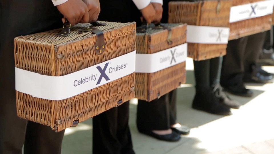 The Grass is Greener with Celebrity Cruises Event